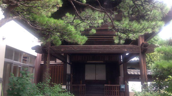 海岸寺の宿坊への宿泊